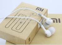 Wholesale Xiaomi M1 Shipping - Wholesale-New High Quality XIAOMI Earphone Headphone Headset For XiaoMI M2 M1 1S Samsung iPhone With with Remote And MIC free shipping