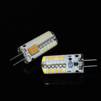 Hot selling G4 AC12V DC 12V 48 leds 5W Silica Corn bulb Led light, 3014 SMD brightness Crystal Lamp crystal chandelier Lighting 1Pcs Lot
