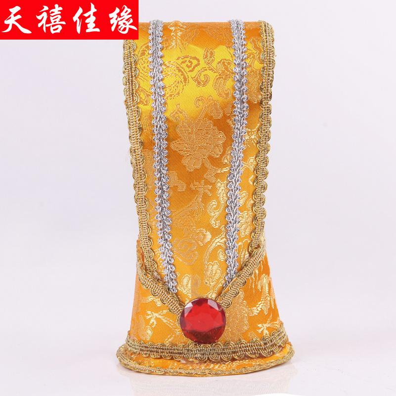 Han Chinese clothing costume costumes costume hats Mens clothing Qu Han Chinese clothing costume garment hat crown crown