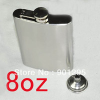 Hip gros-8 oz Whiskey Pocket Flask Wine Liquor Alcool Wedding Party Bar Drink Bottle [010418]