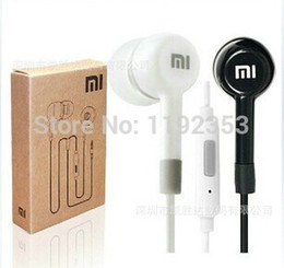 Wholesale High Quality Mp3 Player - High Quality XIAOMI Earphone Headphone Headset For XiaoMI M2 M1 1S Samsung iPhone mp3 player With with Remote And MIC