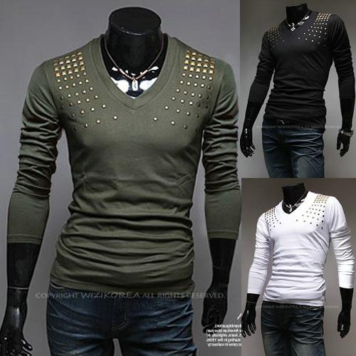 Free shipping2014 men 39 s new men 39 s diamond paste for Expensive mens dress shirts brands