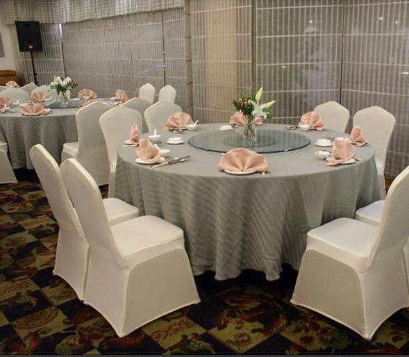 Linen Chair Cover pure color elastic chair cover antimacassar wedding banquet seat