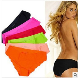 Wholesale Sex Free Girl Ship - Wholesale-Hot Selling Shorts women 2014 new panties girl fashion briefs lady underwear sex Lace Ultra-thin for free shipping