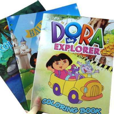 89 Coloring Book Dora Explorer