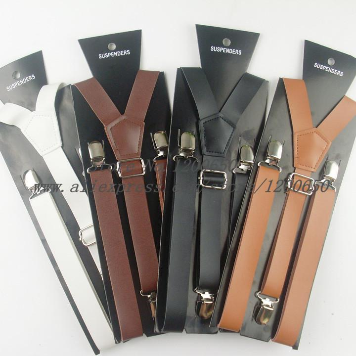 best shoes street price fashionablestyle 2014 Fashion Men Leather Suspenders Belt PU Leather Clip On Men Women  Braces Suspenders 2.3CM Width Suspenders Corsets From Xinstar, &Price;| ...