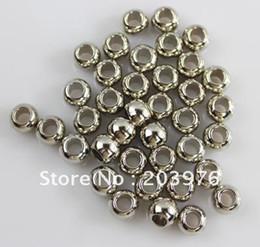 gros talon en gros Promotion perles pour bijoux argent or couleur bronze matériau CCB gros trou bijoux écharpe pendentif 300 pcs / lot