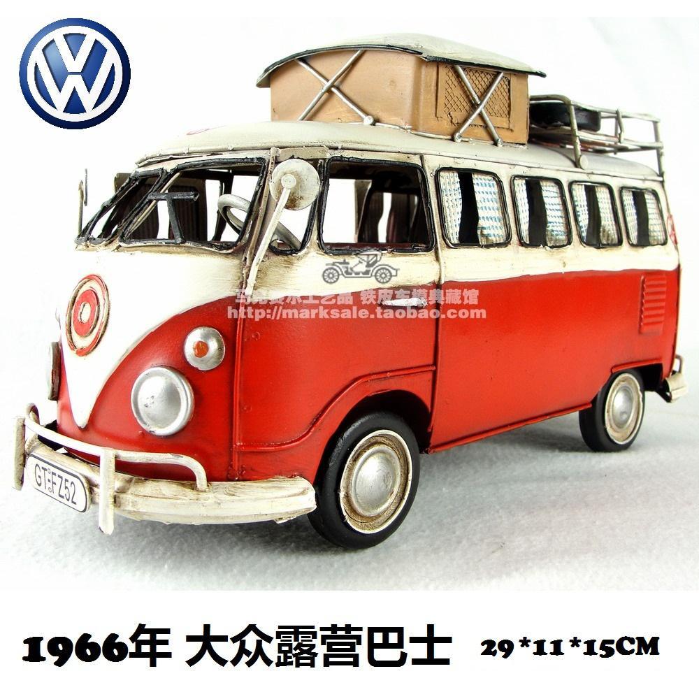2018 Handmade Wrought Iron Vintage Car Model Vw Camper Van T2 Bus ...