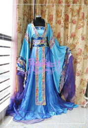 Wholesale Han Chinese Clothing - Special costume female Han Chinese clothing costume clothes Datang tailing Royal Princess fairy costumes performance clothing clothes