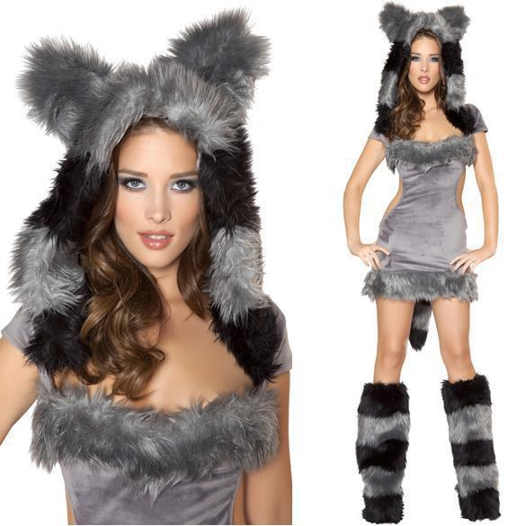 see larger image - Halloween Wolf Costume