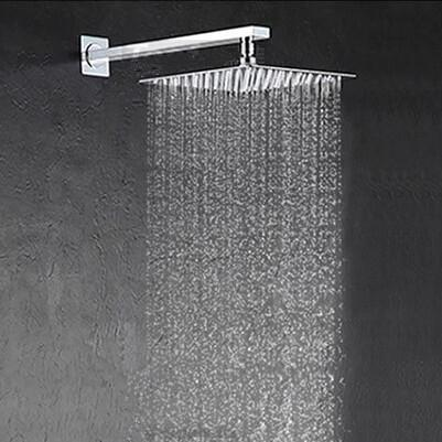 8a1a0811366 2019 12 Inch Shower Head With Arm 300 300 Stainless Steel Head Shower With Shower  Arm Top Water Saving Rain Shower From Waterworldwide