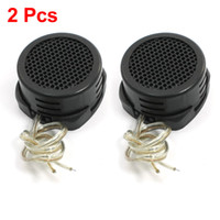 Wholesale Tweeter Auto - 2 Pcs Car Auto Audio Flush Mounted Loud Dome Tweeter Speakers 500W