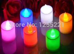 Wholesale Led Candles Sale - Hot sale 24pcs LED Candles Flicker Flameless Pillar LED bock Wedding decoration event & party supplies