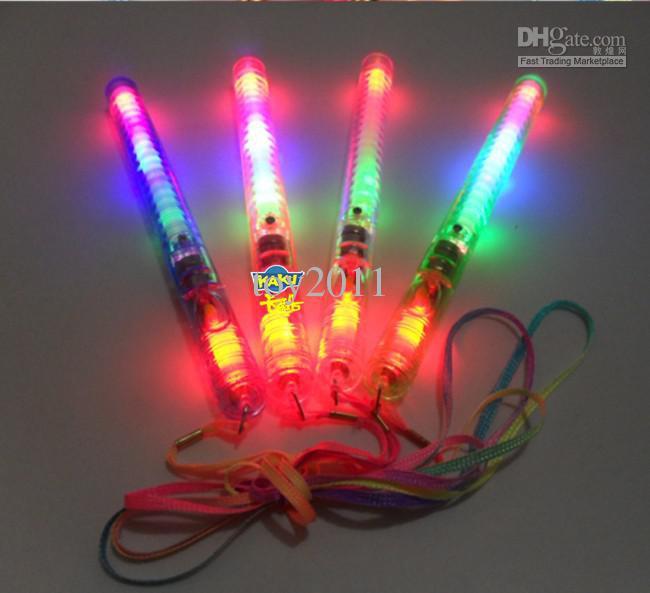 lotti i LED lampeggiante bagliore di luce bacchette, LED lampeggiante luce bacchetta giocattolo novità