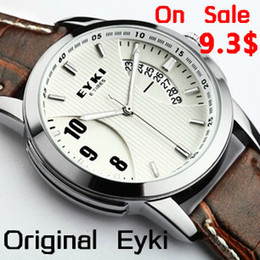 Wholesale Eyki E - Wholesale-Original E-Times EYKI Men's Women's Sports Watch real Calendar Male hour Free shipping Dropshipping