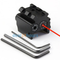 Tactique pistolet Mini point rouge Laser Sight Scop Rail Weaver/Picatinny montage 21mm nouvelle livraison gratuite !