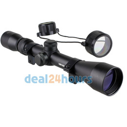 Wholesale Snipers Rifle Scope - New 3-9 x 40 Tactical Rifle Optics Sniper Scope Reviews Sight Hunting Scopes Black Free Shipping!