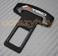 Wholesale Seat Belt Alarm - Wholesale-2pcs Eliminate Stop Alarm Seat Belt Insert Plug for TRD