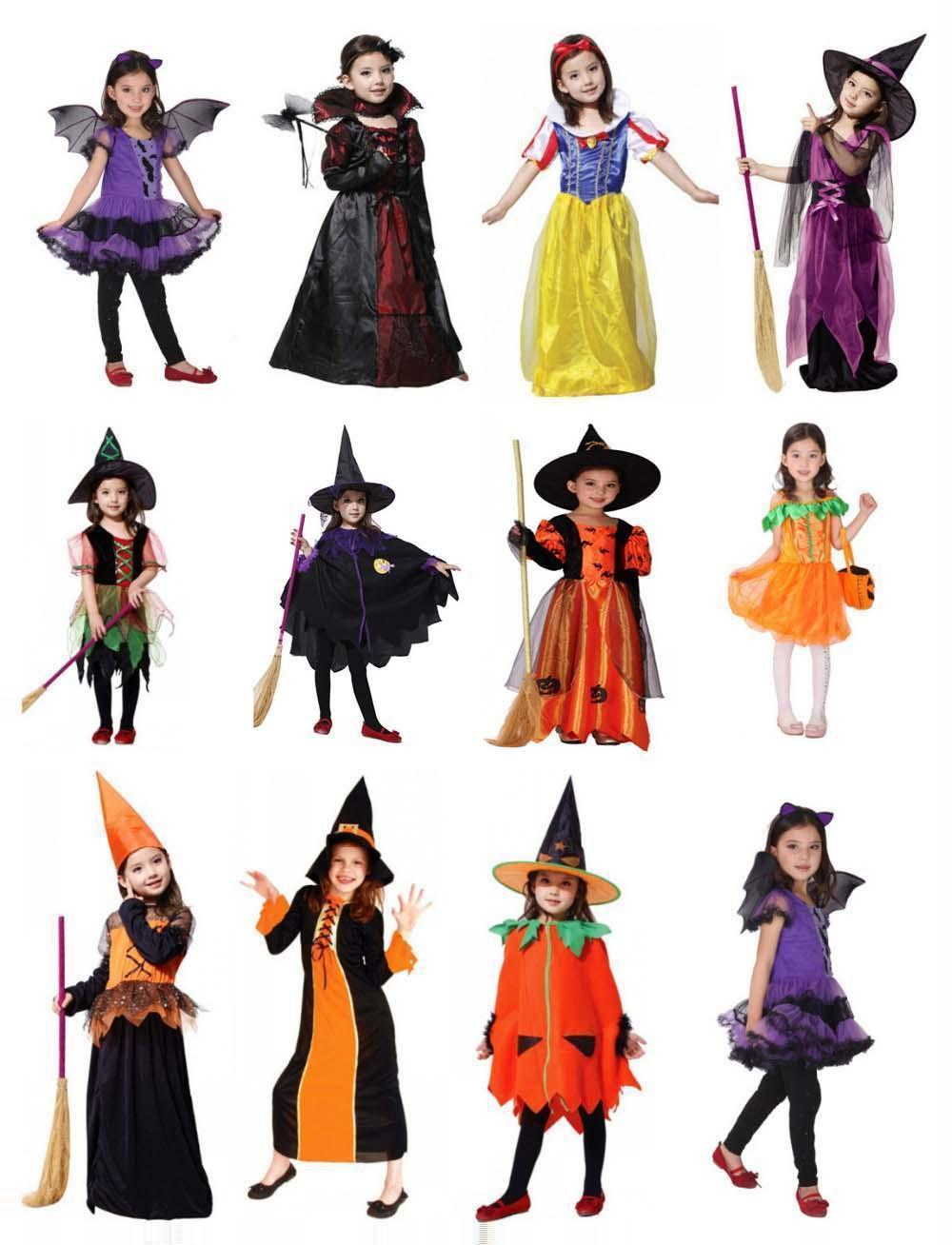 2018 2014 New Cute V&ire Costume Halloween Costume For Kids Girl Pumpkin Witch Dress Set Black Witches Hat Children School Cosplay From Lakers_man ...  sc 1 st  DHgate.com & 2018 2014 New Cute Vampire Costume Halloween Costume For Kids Girl ...