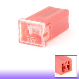 Wholesale Fuse Auto - Car Auto Link Pink Slow Blow PAL Female Mini Fuse 30A 30 Amp 32V