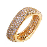 Wholesale Fasion Rings - Top Fasion Time-limited Trendy Square Shape Ring 18k Cubic Zircon Flower Rings for Women The Gorgeous Plated