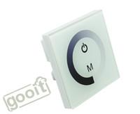 dimmer ışık eve geçer toptan satış-LED Dimmer 12 V Dokunmatik Panel Dimmer Anahtarı DC12V - 24 V LED Şerit RGB LED Işıklar için, ampuller Ev Lambaları Kısılabilir CE ROHS, dandys