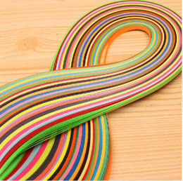 Wholesale Diy Paper Decoration - Promotion!! Mixed 36 Colors 720PCS  Set 3mm x 54cm Quilling Paper DIY Scrapbooking Christmas Wedding decoration Free Shipping