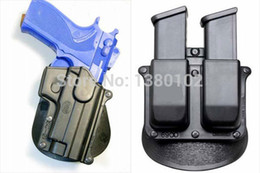 Wholesale Sg Double - Wholsale Tactical One Set SG-21 Standard Paddle RH Holster + 6900 Double Magazine Holster Concealed Freeshipping