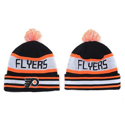 Flyers Beanie Hats Hockey Pom Pom Beanies Cheap Knitted Hockey Hats Warm  Winter Caps Sports Team Skull Caps Cool Winter Beanie Hats Hot Sale UK 2019  From ... 54e407c2580