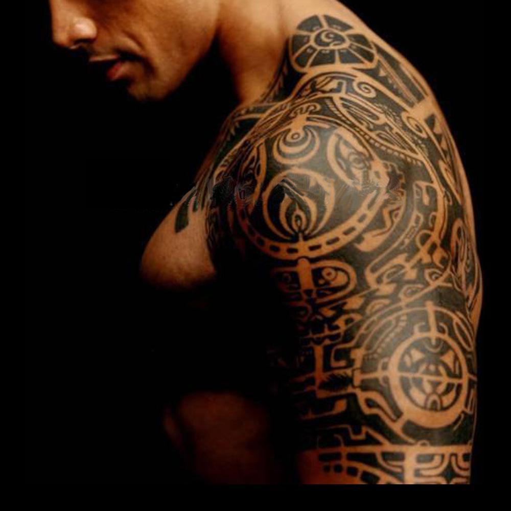 19*25cm Temporary Body Tattoo Sticker Last 5 7day Delicate Cool Men ...