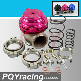 Wholesale Wastegate 44mm - J2 RACING STORE- Water cooler 44mm Tial Wastegate external turbo red blue black With Flange and Hardware MV-R Water-cooled