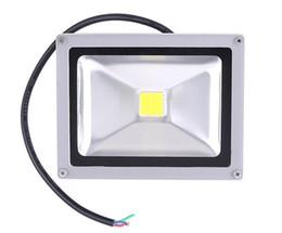 Iluminación led 12vdc online-12VDC 10W Warm White LED Flood Light Proyector impermeable de alta potencia al aire libre 12V Lights IP65 rojo azul verde amarillo LW2