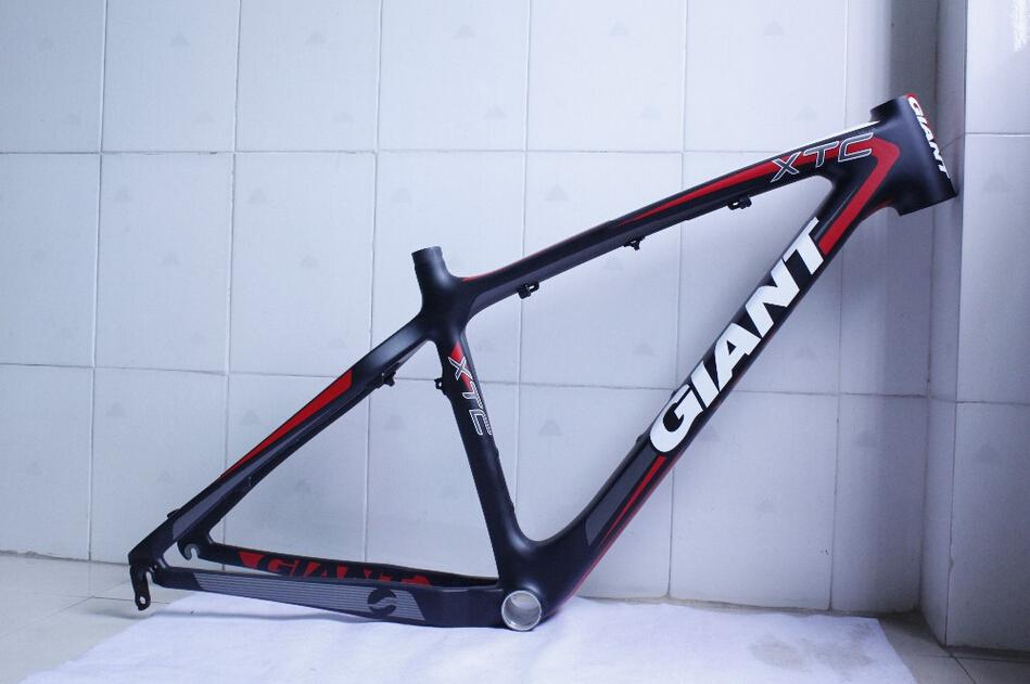 Giant Xtc Carbon Fiber Frame / Carbon Bicycle Frame / Mtb Carbon ...