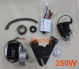 Wholesale E Bike Scooter - 24V   36V 350W ELECTRIC MOTOR KIT ELECTRIC SCOOTER CONVERSION KIT DIY E-BIKE HOMEMADE ELECTRIC BIKE L-FASTER EBIKE MOTOR