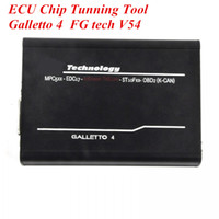 Wholesale Galletto Adapters - 10pcs lot FG tech V54 Galletto 4 ECU Chip Tunning Tool V54 BDM Adapters fast shipping