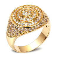 Wholesale 18k Gold Material - New Band Platinum and 18K Gold Luxury Women Wedding Rings Top Quality Cubic Zirconia Bridal Party Ring Environmental Friendly Material