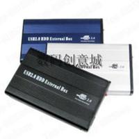 laptop ide sürücüler toptan satış-USB 2.0 IDE 2.5-inç Harici Sabit Disk Sürücüsü HDD Alüminyum Harici 500 GB Max Çapa IDE LAPTOP SERT SÜRÜCÜ