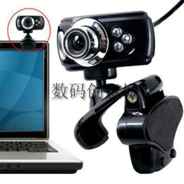 USB 50 Megapixel HD Webcam Web Cam Camera & Microphone Mic 3 LED PC Laptop Skype Freeshipping
