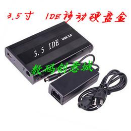 Disco rígido externo HDD da caixa do cerco de USB do exemplo do disco rígido do IDE de 3,5 polegadas de