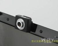 cámara retráctil al por mayor-Freeshipping Mini Stylish USB 2.0 Retractable Clip WebCam Cámara web Portátil PC