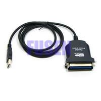 paralelos de área de trabalho venda por atacado-36 pinos USB para cabo adaptador de impressora paralelo IEEE 1284