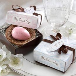Wholesale Wholesale Baby Shower Soaps - Egg Soaps for Wedding Gift Soap For Baby Shower Soaps Party Supplies 20pcs lot Festive Gift Supplies