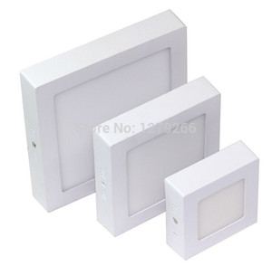 Wholesale LED Square Panel Wall Ceiling Down Lights Bulb Lamp W W W AC85 V