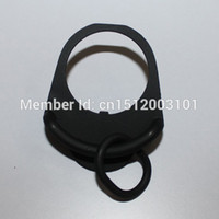 Wholesale Ak Accessories - Buttstock End Plate Double Loop Hook Sling gun accessories Adapter Mount for AR15 M4 M16 AK free shipping