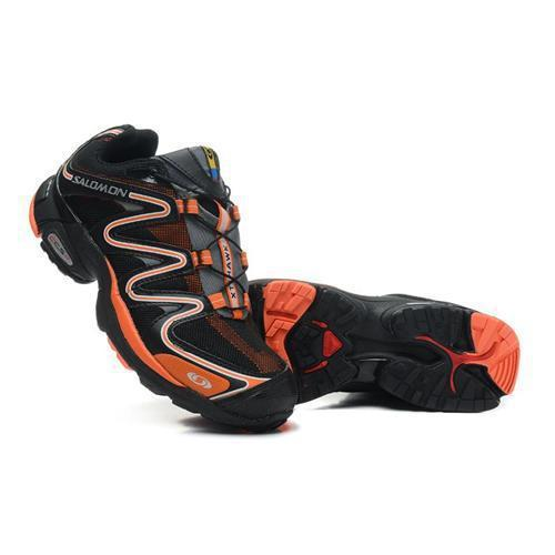 Großhandel 2014 Vorgenommen Ni China.Heiße Salomon XT Hawk Laufschuhe Salomon Schuhe Herren Sport Wandern Outdoor Training Sportschuhe Schwarz Orange