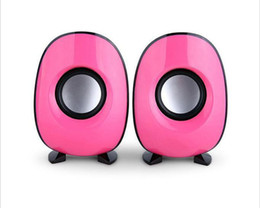 Wholesale Small Notebook Computers - 2014 New AW219 speaker penguin stereo USB notebook small desktop computer stereo speakers subwoofer-ZXJ