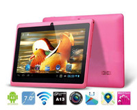 """Wholesale Epad 3g Wifi - 7"""" inch Capacitive Allwinner A33 Quad Core Android 4.4 dual camera Tablet PC 4GB 512MB WiFi EPAD Youtube Facebook"""