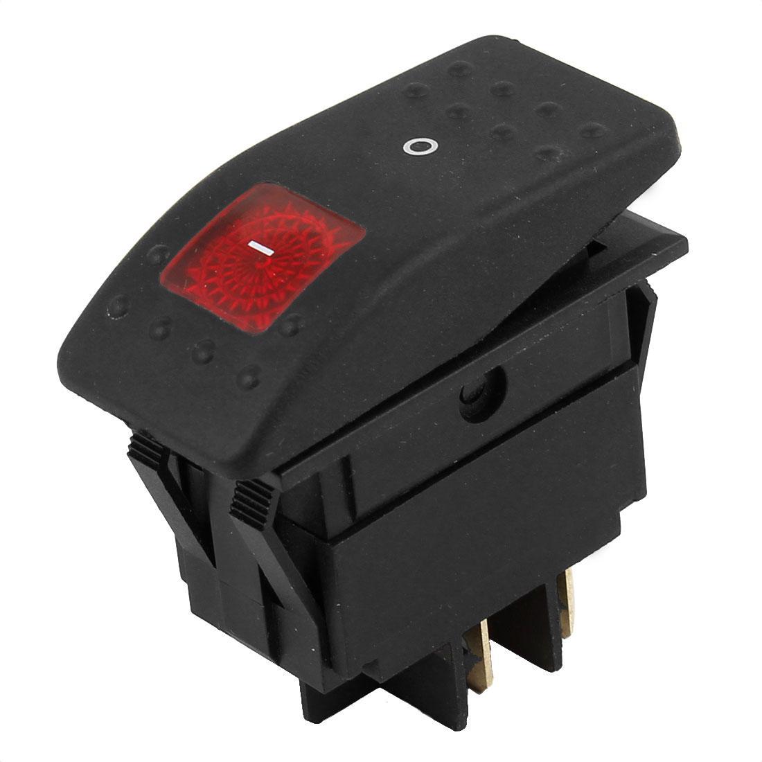 2018 Dpst 4 Pin Jeep Car Fog Lignt Boat Rocker Switch Button Dc 12v ...