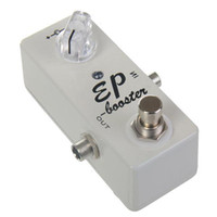 Wholesale White Pedals - Guitar Effect Pedal Boost True Bypass MINI EP BOOSTER -- GUITAR PEDALS BOOST WHITE MU0365