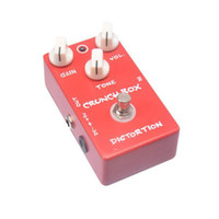 Wholesale Box Effects Pedal - Free Shipping Guitar Effect Pedal Distortion Crunch Box And True Bypass Design MU0372